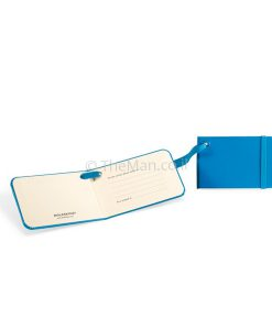 תג מזוודה כחול - MOLESKINE