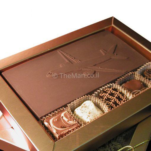 שוקולד ממותג במארז