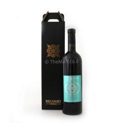 בקבוק יין ממותג וארוז