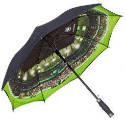 מטריה מפתיעה מודפסת בצבע מלא