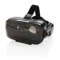 משקפי מציאות מדומה משולבות אוזניות