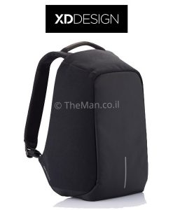 Bobby anti-theft backpack, black