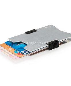 נרתיק כרטיסי אשראי אלומיניום נגד גניבות