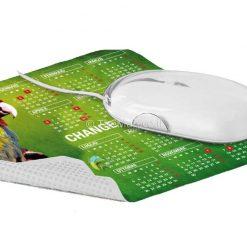 פד עכבר מיקרופייבר עם סיליקון