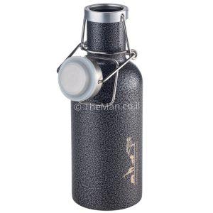 בקבוק מים בצבע טיטניום של המותג הגרמני טרויקה