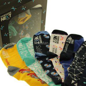 גרביים ממותגות מתנה ללקוחות