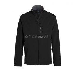 מעיל סופטשל של LANDWAY לגבר בצבע שחור