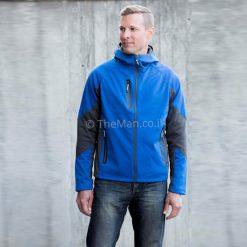 מעיל סופטשל של LANDWAY, להשיג אצל האיש החשוב כמתנות לעובדים עם מיתוג