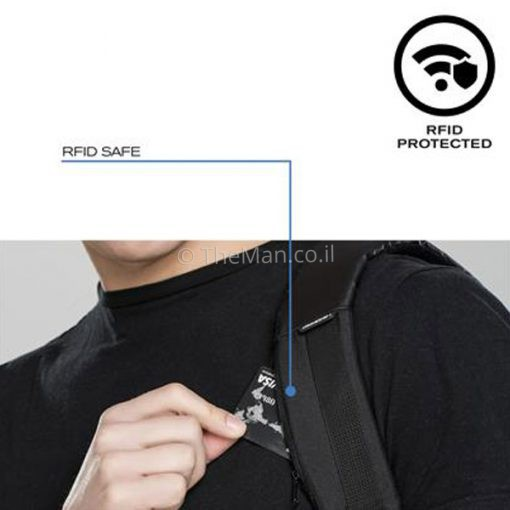 בובי אורבן עם כיס נסתר RFID