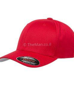 FLEX FIT כובע אדום