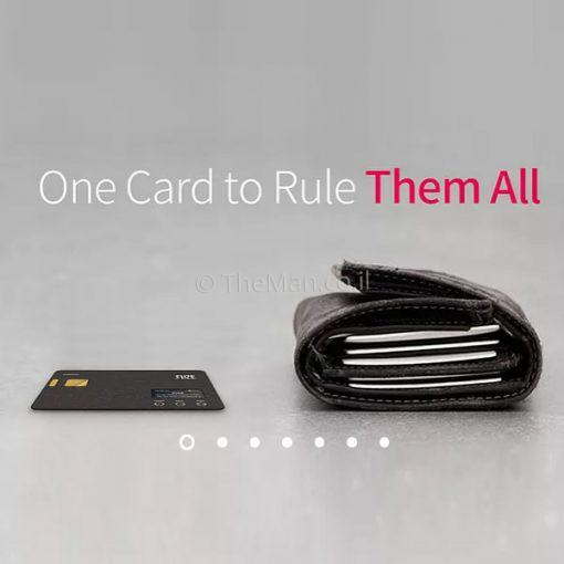 כרטיס FUZE - כל הארנק בכרטיס אחד