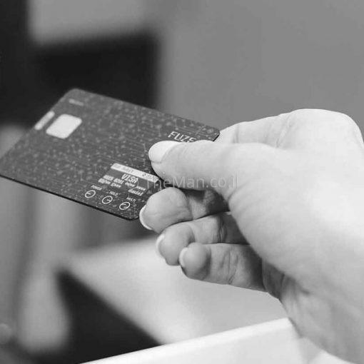 FUZE CARD כרטיס חכם המחזיק את כל הארנק שלכם בתוכו