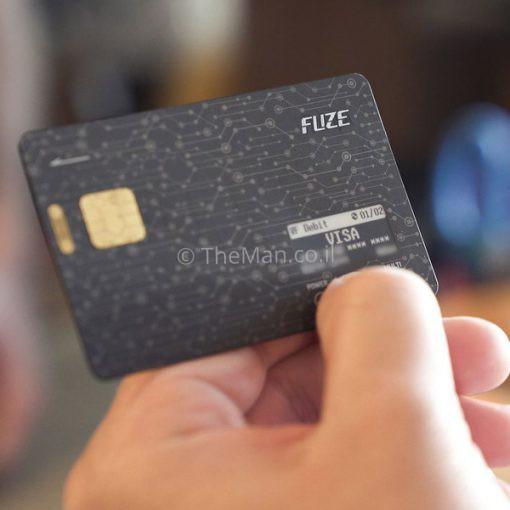 FUZE Card - כל הארנק בכרטיס אחד