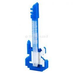 גיטרה כחולה משחק הרכבה