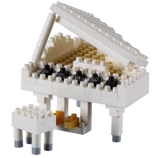 משחק הרכבה מיניאטורי כלי נגינה