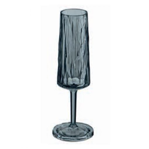 כוס שמפניה SUPERGLAS בצבע אפור