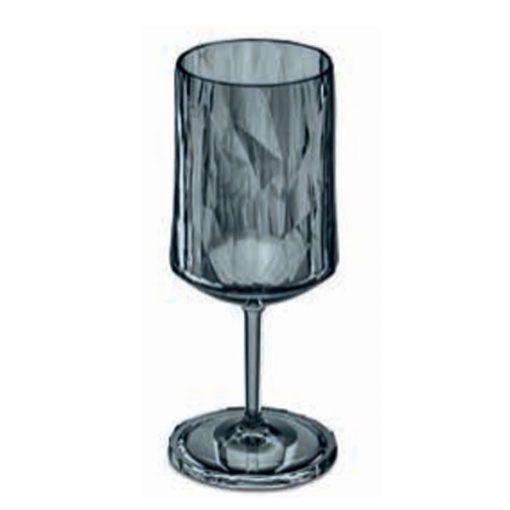 כוס יין SUPERGLAS אפורה