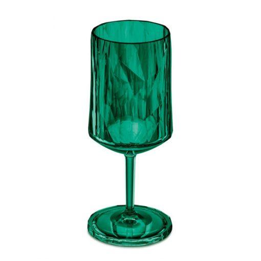כוס יין SUPERGLAS ירוקה