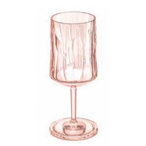 כוס יין SUPERGLAS ורודה