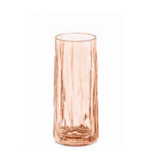 כוס SUPERGLAS ג'ין וטוניק בצבע ורוד