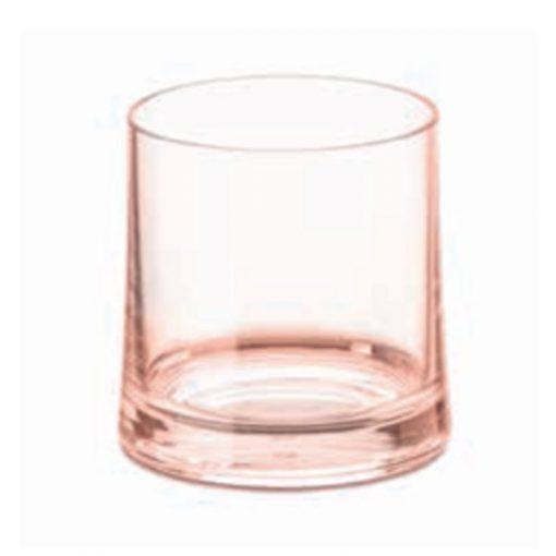 כוס SUPERGLAS לשימוש יומיומי ורודה