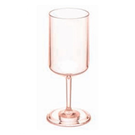 כוס יין SUPERGLAS קלאסית ורודה