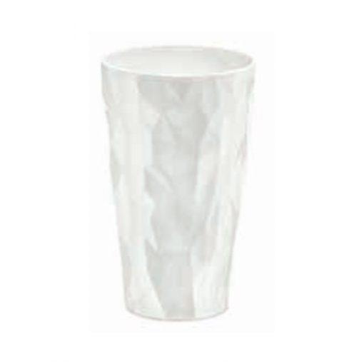 כוס SUPERGLAS לפיקניק לבנה