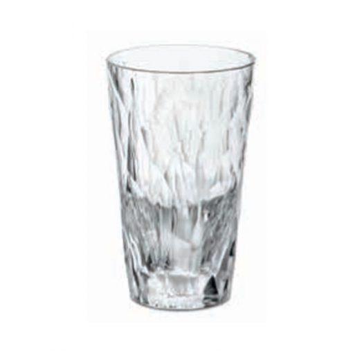 כוס SUPERGLAS לפיקניק שקופה