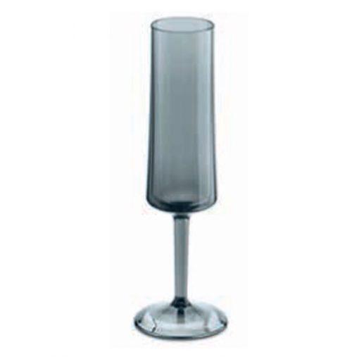 כוס שמפניה SUPERGLAS CHEERS בצבע אפור