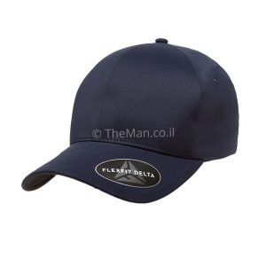 FLEXFIT DELTA כובע כחול