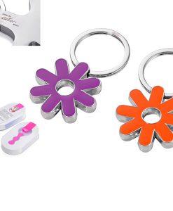 מחזיק מפתחות פרח
