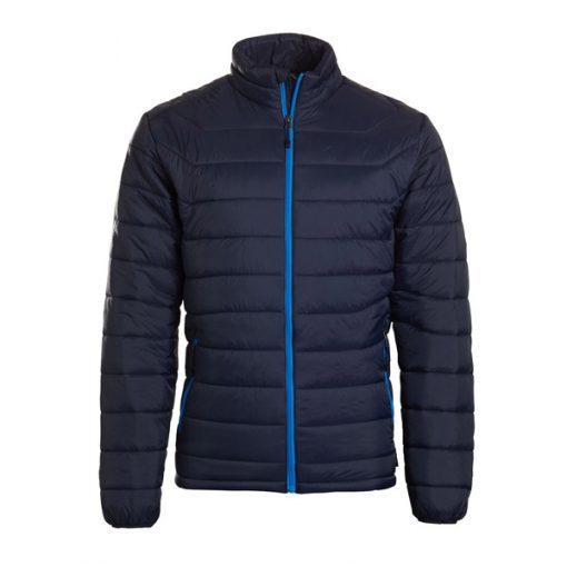 מעיל פוך כחול לגבר