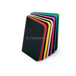 פנקס חלק עם דפים צבעוניים