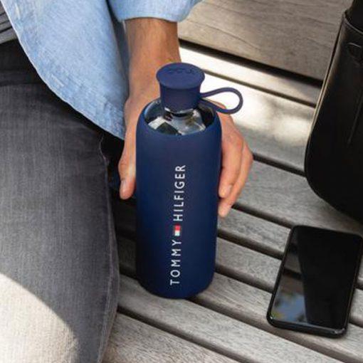 בקבוק זכוכית במיתוג מלא