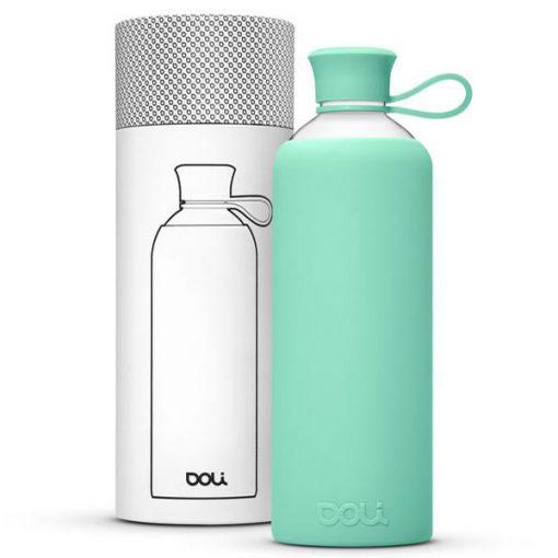 בקבוק זכוכית בשפת המותג