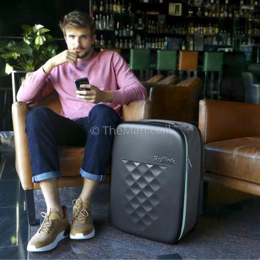 ROLLINK המזוודה הדקה בעולם