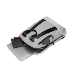 תיק אפור למחשב נייד