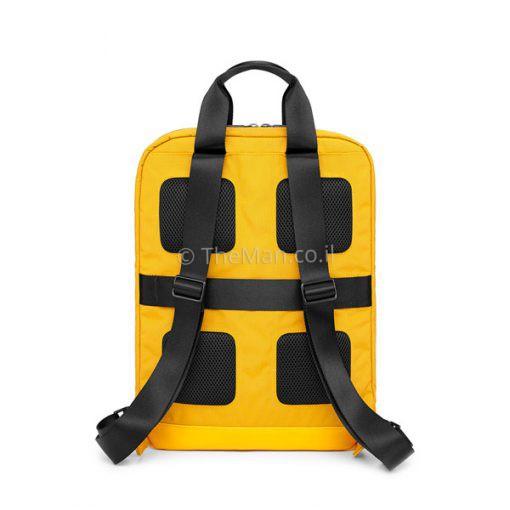 תיק גב צהוב מעוצב