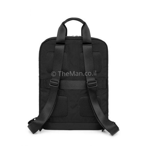 תיק גב שחור למחשב נייד
