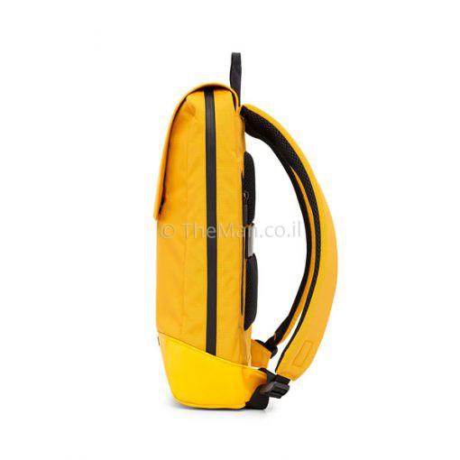 תיק למחשב נייד בצבע צהוב
