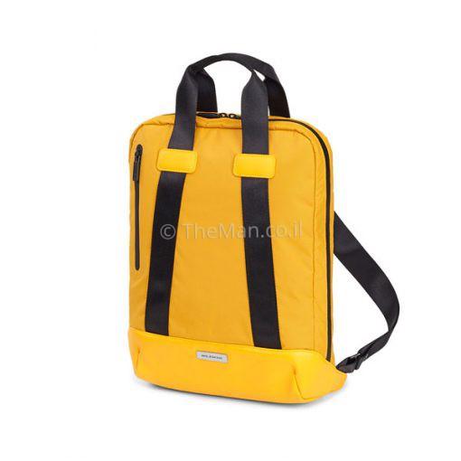 תיק מולסקין בצבע צהוב