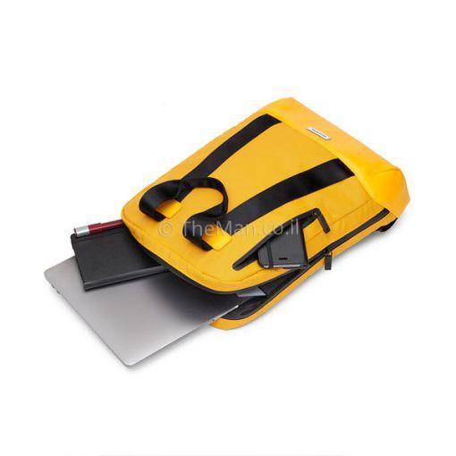 תיק צהוב למחשב נייד