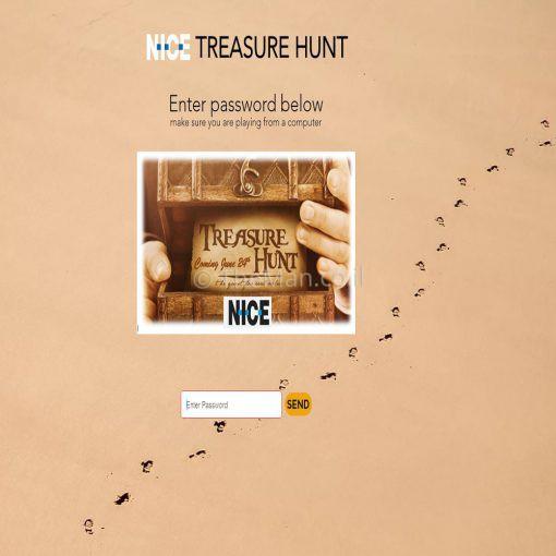 האתגר הוירטואלי - Nice-Treasure-Hunt