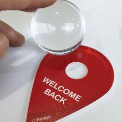 כדור בדולח מתנה לעובדים