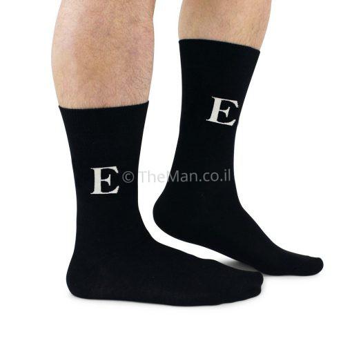 גרביים אותיות